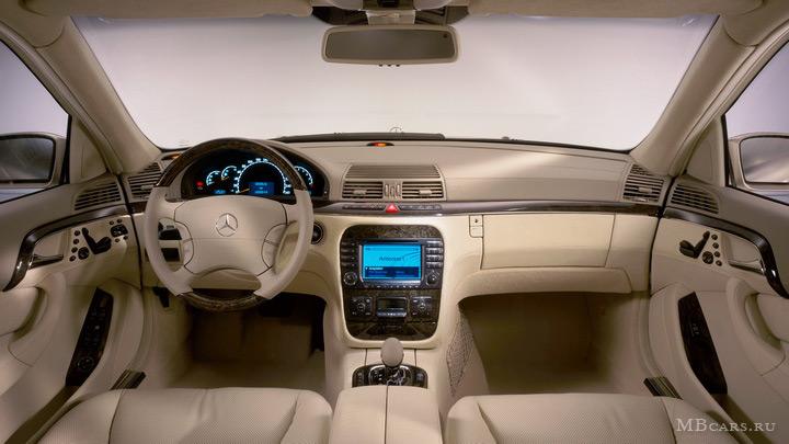 W220 for Mercedes s klasse interieur