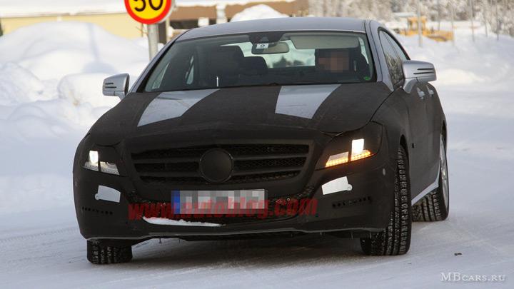 Шпионские фотографии Mercedes-Benz CLS