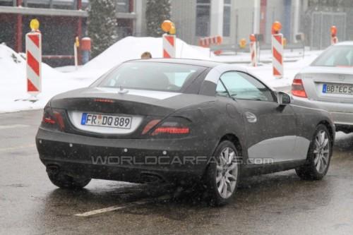 Шпионские фотографии Mercedes-Benz SLK